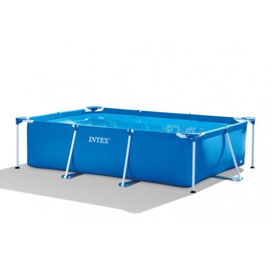 Intex opzetzwembad rechthoek for Opzet zwembad rechthoek