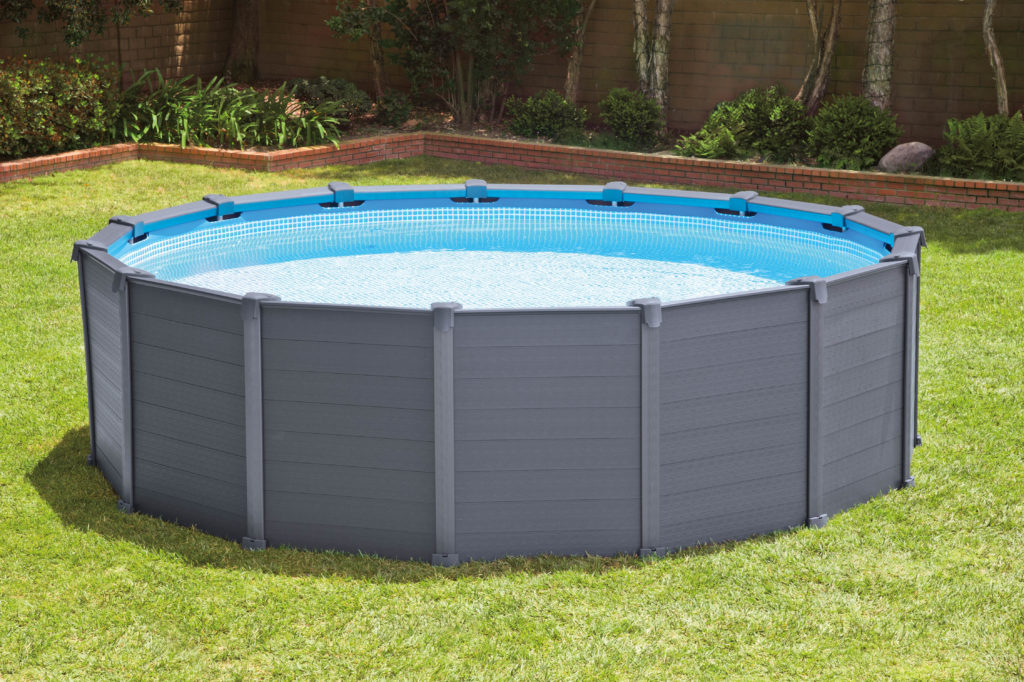 Intex panel zwembad rond zwembadshop
