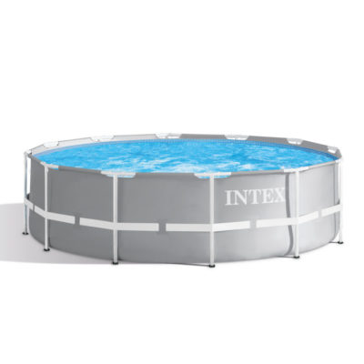 Intex opzetzwembad rond