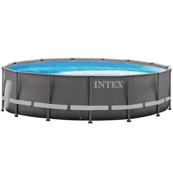 Intex frame zwembad rond for Opzet zwembad rechthoek