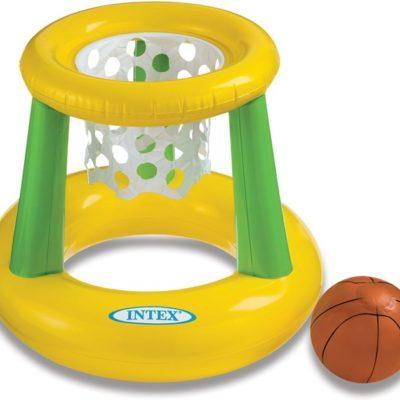 Opblaasbaar basketbalnet