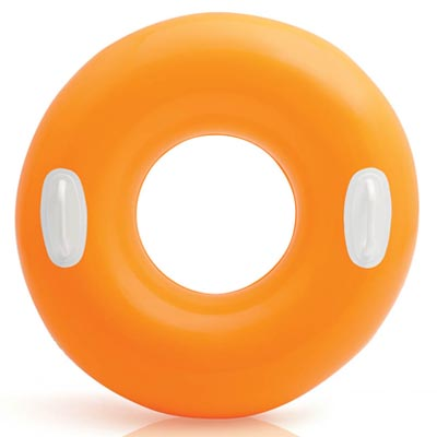zwemband hoogglans oranje