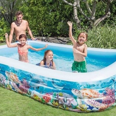 Opblaasbaar zwembad Onderwaterwereld 2