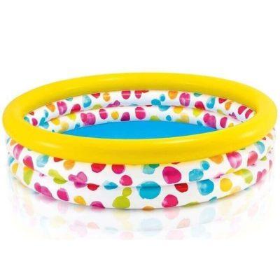Opblaaszwembad kleurrijke Cirkels 1