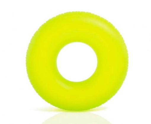Neon geel zwemband
