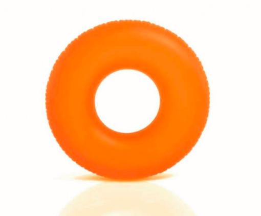 Neon oranje zwemband