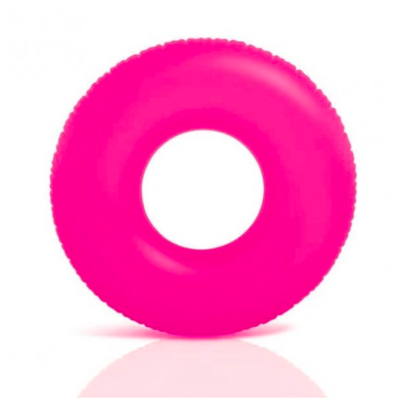 Neon roze zwemband