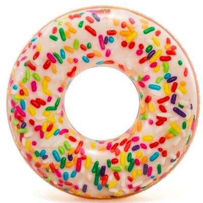 Opblaasbare Sprinkle Donut Zwemband