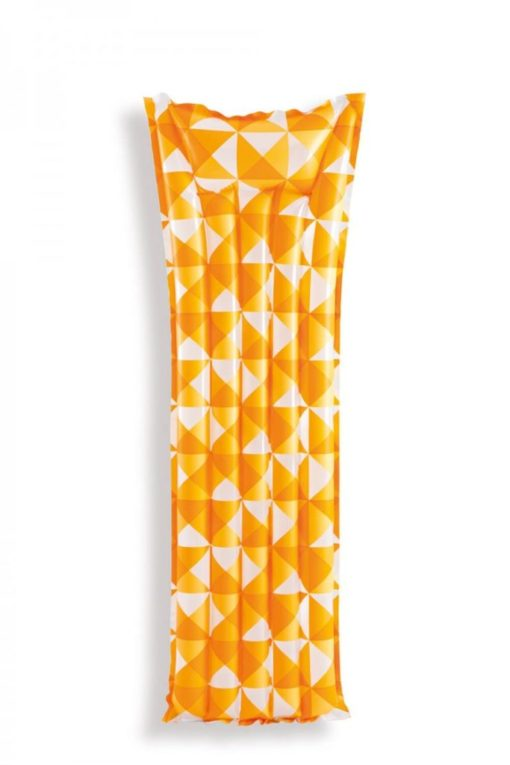 mozaiek luchtbed oranje