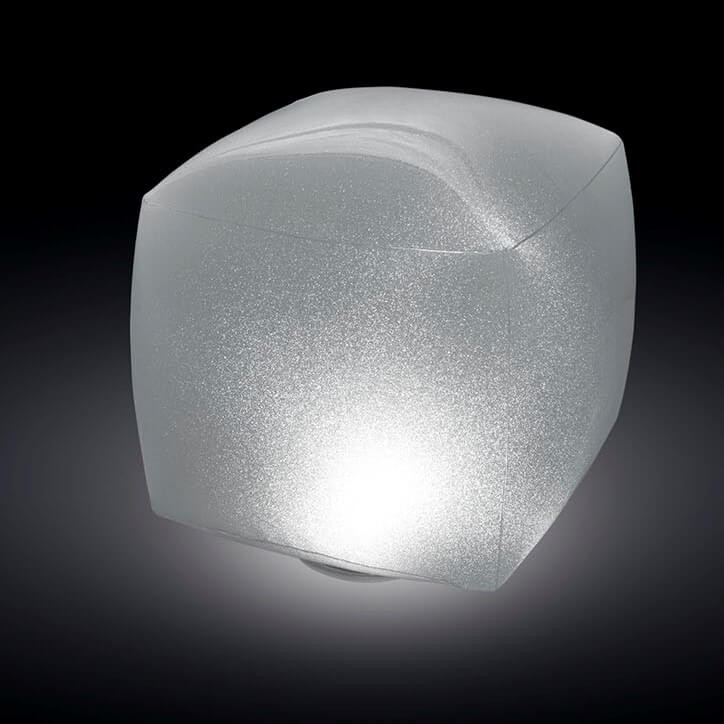 Drijvend zwembad licht vierkant for Zwembad vierkant intex