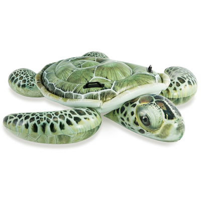 Opblaas zee schildpad