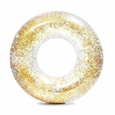 gouden glitter zwemband