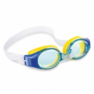 junior zwembril blauw