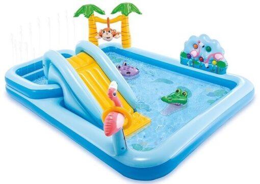 Jungle speelzwembad intex